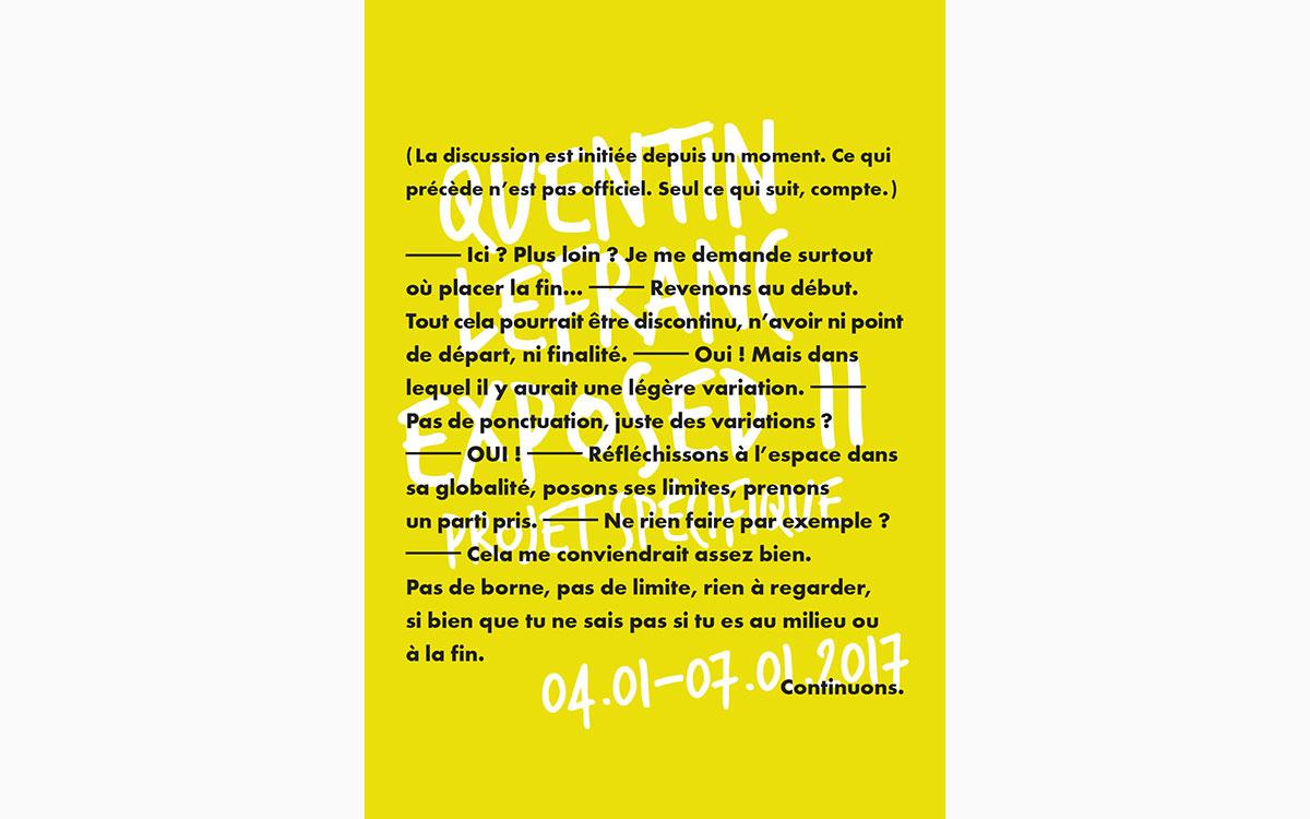 QuentinLefranc_ExposedII_flyer